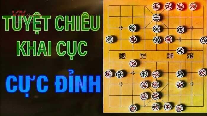 Cách chơi cờ úp khai cuộc độc đáo