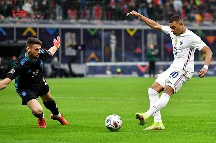 Tây Ban Nha vs Pháp