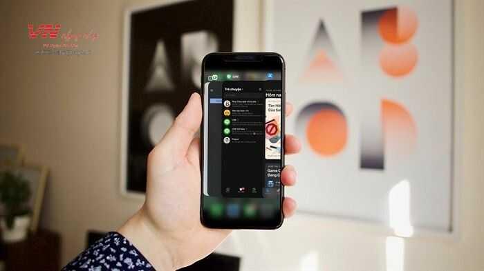 ứng dụng chạy ngầm trên iPhone